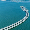 Impressive Underwater Bridge Between Denmark And Sweden