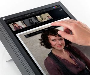 In future even Printers are going Touch Screen
