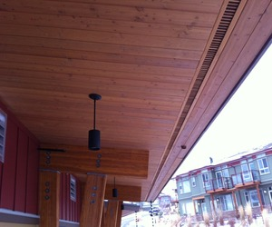 In praise of wood soffits