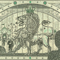 Incredible Currency Collages by Mark Wagner