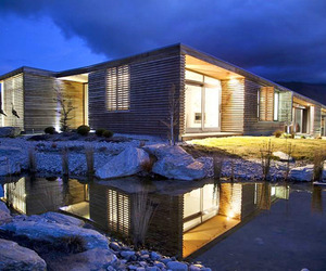 Incredible home immersed in the New Zealand mountains