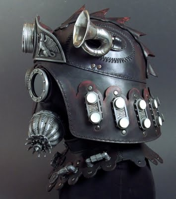 Incredible Steampunk Gas Masks And Helmets