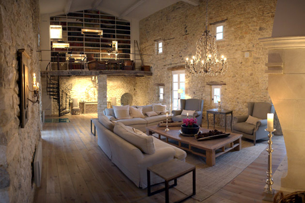 Les cavaliers incredible stone villa in provence france for Villas francesas
