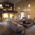 """Les Cavaliers"": Incredible Stone Villa In Provence, France"