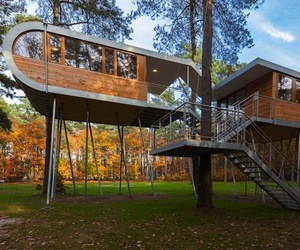 Incredible Treehouse Retreat by Baumraum