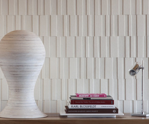 Index Dimensional Wool Felt and Cork Wallcovering