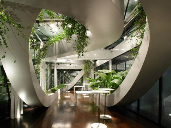 indoor garden design - Environmental Interior Design