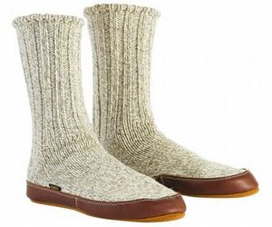 Indoor Outdoor Travel Slipper Socks For Extreme Cold