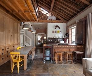 Industrial-chic Loft in Historic Ragged School by Zanna