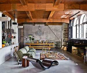 Industrial-Chic Urban Loft in Budapest | Beatrix Torma