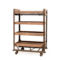 Industrial Factory Cart Shelf