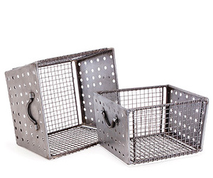 Industrial Perforated Metal Baskets