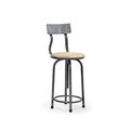 Industrial Swivel Stool