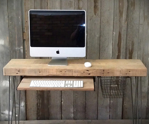 Industrial Work Desk by Erin Norton