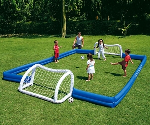 Inflatable Garden Soccer Field