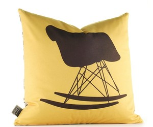 Inhabit Unique Decorative Pillows, Eames Chairs Collection