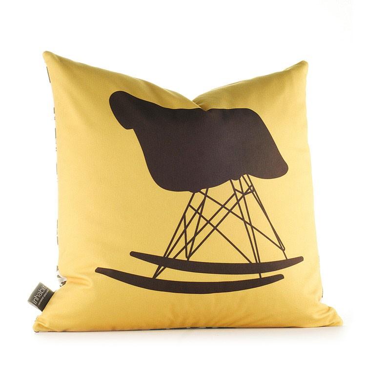 Inhabit Unique Decorative Pillows Eames Chairs Collection