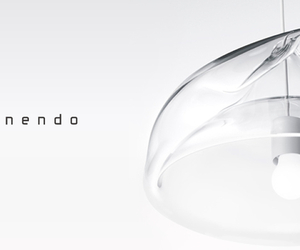 Inhale lamp by Nendo