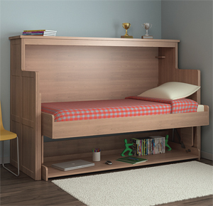 Innovative Convertible Desk Bed