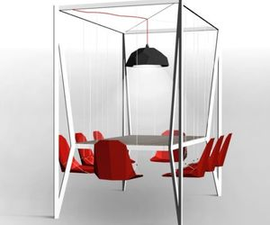 Innovative Design Dining Table Swing