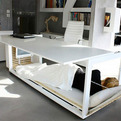Innovative Trio: Desk Bed and Table by Athanasia Leivaditou