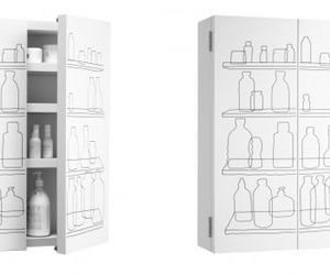 Inside Out Bathroom Cabinet by FreshWest for Authentics