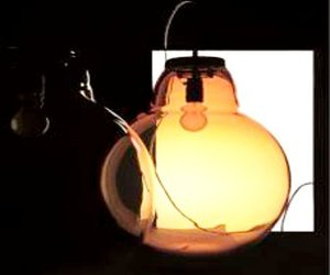 Inside-Out Glass Lamp