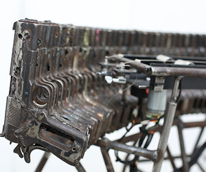 Instruments Made from Decommissioned Weapons