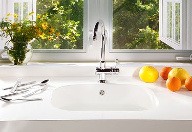 Integrity a new seamless sink and countertop from silestone for Silestone sink