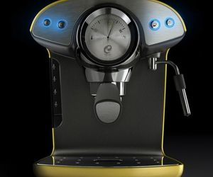 Intenso Espresso Coffee Machines by Hugo Cailleton