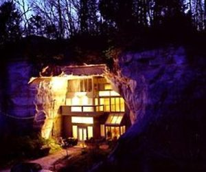 Interesting Cave House