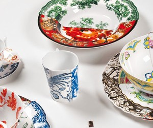 Interesting Tableware, European vs Chinese Porcelain Design