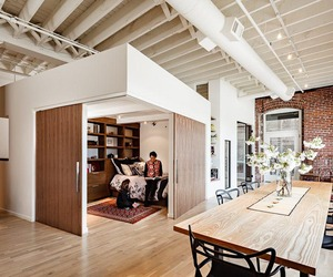 Intergenerational Loft by Dangermond Keane Architecture