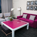 The Gansevoort Hotel with Pink Accented Interior Design