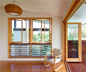 Interior of Hill End Ecohouse