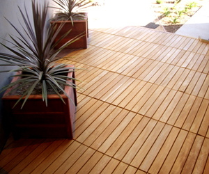 Interlocking Deck Tiles from Eco Arbor Designs