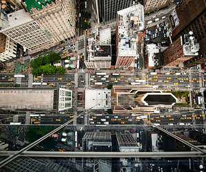 Intersection from Above by Navid Baraty