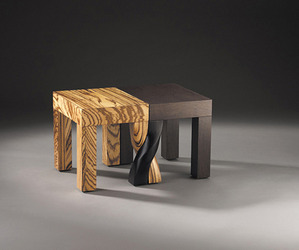 Intertwined Stools by Kan & Lau Design