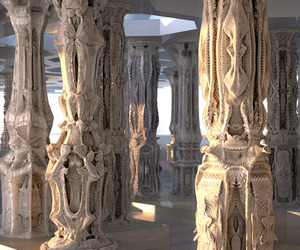 Intricate Cardboard Structures by Michael Hansmeyer