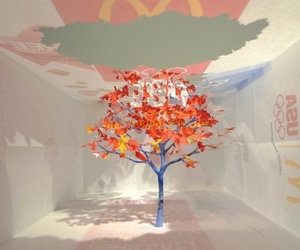 Intricate Miniature Tree from Mcdonald's Paper Bag