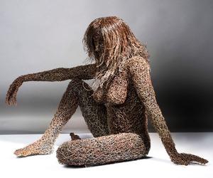 Intricate Wire Sculpture