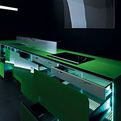 Invitrum 100 Percent Recyclable Kitchen by Valcucine
