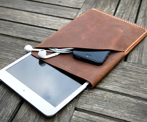 iPad Mini Leather Sleeve