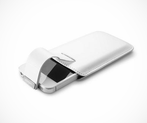 SPIGEN SGP iPhone 5 Leather Pouch with Pull Tab