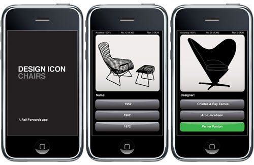 Iphone App Icon Design Chair