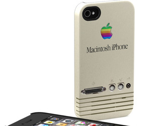iPhone Cases Go Old School Apple