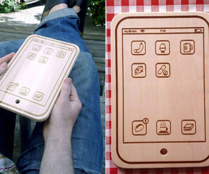 iPhone-shaped cutting boards