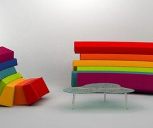 Iris – Rainbow furniture by Lubo Majer