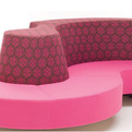 Isola 8 Lounge and Pyramid Chair – Design by Karim Rashid