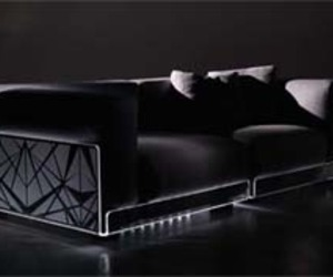 Italian, Asami Light Sofa Furniture by Colico